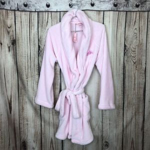 NWT Victoria Secret Pink Fluffy Bathrobe Small